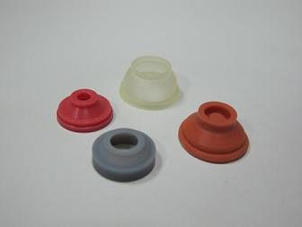 Silicone Rubber Single-Button